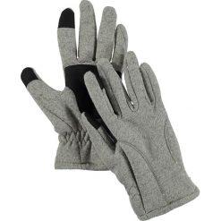 """Rękawiczki męskie: Rękawiczki """"Polarize"""" w kolorze szarym"""