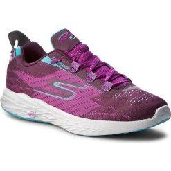 Buty SKECHERS - Go Run 5 14118/PUR Purple. Fioletowe buty do fitnessu damskie Skechers, z materiału. W wyprzedaży za 309,00 zł.