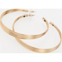 Kolczyki koła - Złoty - 2