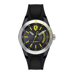 """Zegarek """"0840015-RED-REV-T"""" w kolorze czarno-srebrnym. Czarne, analogowe zegarki męskie Lacoste, srebrne. W wyprzedaży za 497,95 zł."""