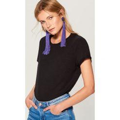 Koszulka oversize - Czarny. Białe t-shirty damskie marki Adidas, xs. Za 29,99 zł.