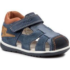 Sandały męskie: Sandały GARVALIN - 172330 Petrol Y Azul