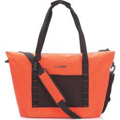 Torby plażowe: Pacsafe Duża torba plażowa z zabezpieczeniami przeciw kradzieży 36l - Orange (PPA21110302)