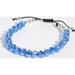 Bransoletka z koralikami - Niebieski. Niebieskie bransoletki damskie z cyrkoniami marki Sinsay. Za 14,99 zł.