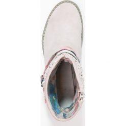 S.Oliver RED LABEL Botki dusty pink. Czerwone buty zimowe damskie marki s.Oliver RED LABEL, z materiału. W wyprzedaży za 174,30 zł.