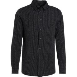 Koszule męskie na spinki: J.LINDEBERG DANIEL COUPE PINSTRIPE Koszula black