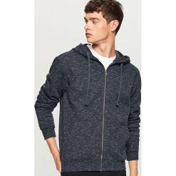 Rozpinana bluza z kapturem - Szary. Szare bluzy męskie rozpinane marki Dstreet, m, z bawełny, z kapturem. Za 79,99 zł.