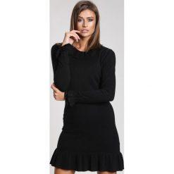 Czarna Sukienka Lovely Things. Czarne sukienki dzianinowe marki other, uniwersalny. Za 69,99 zł.