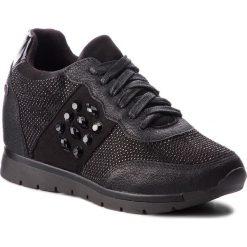 Sneakersy XTI - 48267 Czarny. Czarne sneakersy damskie marki Xti, z materiału. W wyprzedaży za 179,00 zł.