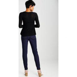 Bluzki asymetryczne: Free People SUPER SCOOP  Bluzka z długim rękawem black