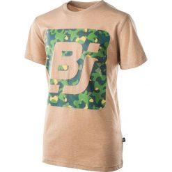 T-shirty chłopięce: BEJO Koszulka dziecięca Logo BJ beżowa r. 146