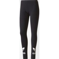 Adidas Originals Legginsy damskie Trefoil Leggings czarne r. XS (AJ8153). Szare legginsy sportowe damskie marki adidas Originals, z gumy. Za 129,90 zł.