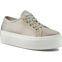 Sneakersy GUESS - Branka FLBRA2 FAM12 LGOLD. Czarne sneakersy damskie marki Guess, z materiału. W wyprzedaży za 309,00 zł.