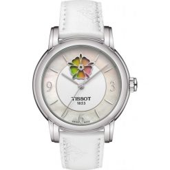 RABAT ZEGAREK TISSOT T-Lady T050.207.17.117.05. Białe zegarki męskie TISSOT, ze stali. W wyprzedaży za 2481,60 zł.