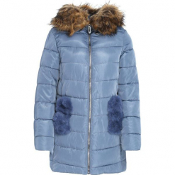Niebieska Kurtka Likeable. Niebieskie kurtki damskie pikowane marki Born2be, na zimę, l. Za 209,99 zł.