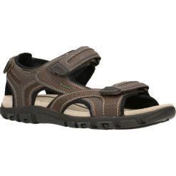 Sandały GEOX UOMO SANDAL STRADA. Szare sandały męskie Geox, z tworzywa sztucznego. Za 219,90 zł.