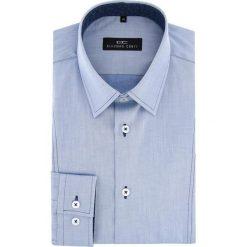 Koszula MICHELE 15-11-04-W. Czarne koszule męskie na spinki marki Giacomo Conti, m, z bawełny, z klasycznym kołnierzykiem. Za 199,00 zł.