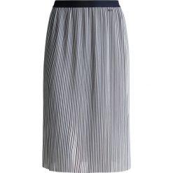 Odzież damska: Armani Exchange Spódnica trapezowa navy/white