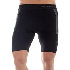 Spodenki sportowe męskie: Brubeck Spodenki męskie Fitness czarne r. S (LB10070)