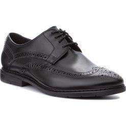 Półbuty CLARKS - Banbury Limit 261322427 Black Leather. Czarne półbuty skórzane męskie Clarks. W wyprzedaży za 279,00 zł.