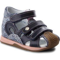 Sandały dziewczęce: Sandały BARTEK – 81021-3/AA6 Niebieski