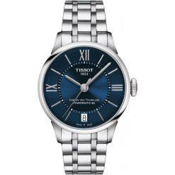 PROMOCJA ZEGAREK TISSOT T-Classic T099.207.11.048.00. Niebieskie zegarki męskie TISSOT, ze stali. W wyprzedaży za 2992,00 zł.