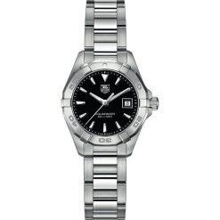 ZEGAREK TAG HEUER AQUARACER LADY WAY1410.BA0920. Czarne zegarki damskie marki KALENJI, ze stali. Za 5230,00 zł.