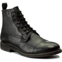 Kozaki GEOX - U Jaylon E U74Y7E 000FV C9999 Black. Czarne glany męskie marki Geox, ze skóry. W wyprzedaży za 559,00 zł.