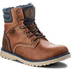 Buty zimowe chłopięce: Trapery ACTION BOY – BP40-FK-683000J Brązowy
