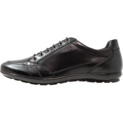 Geox SYMBOL Sznurowane obuwie sportowe black. Czarne buty sportowe męskie Geox, z materiału, na sznurówki. Za 409,00 zł.