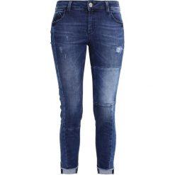 Mos Mosh SUMNER PATCH JEANS Jeansy Slim Fit blue. Niebieskie rurki damskie Mos Mosh. W wyprzedaży za 449,25 zł.