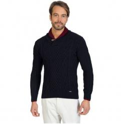Sir Raymond Tailor Sweter Męski, Xl, Ciemnoniebieski. Czarne swetry klasyczne męskie Sir Raymond Tailor, m, z wełny. Za 199,00 zł.