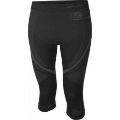 Bryczesy damskie: Brubeck Spodnie damskie Swift 3/4 czarne r. S (SP10310)