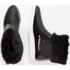 Gioseppo Kalosze black. Czarne buty zimowe damskie marki Gioseppo, z materiału. W wyprzedaży za 191,20 zł.