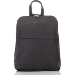 Plecaki damskie: BEVERLY skórzany plecak damski Brązowy