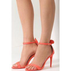 Sandały damskie: Pomarańczowe Sandały Crazy Mouse