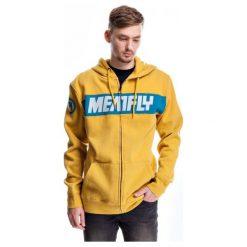 Bejsbolówki męskie: Meatfly Bluza Męska Engine S Żółty