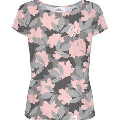 Colour Pleasure Koszulka damska CP-034 257 szaro-różowa r. M/L. Fioletowe bluzki damskie marki Colour pleasure, uniwersalny. Za 70,35 zł.