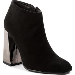 Botki EVA MINGE - Imelda 2A 17BL1372251EF 201. Czarne buty zimowe damskie Eva Minge, ze skóry, na obcasie. Za 699,00 zł.