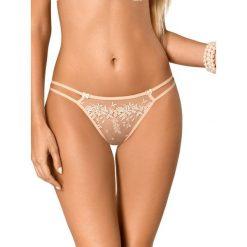 "Majtki damskie: Stringi ""Sari"" w kolorze nude"