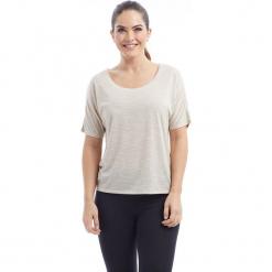 """Koszulka """"Imogen"""" w kolorze kremowym. Białe t-shirty damskie BALANCE COLLECTION, xs, z okrągłym kołnierzem. W wyprzedaży za 65,95 zł."""