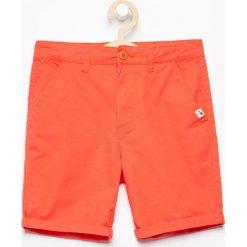Odzież niemowlęca: Krótkie spodenki - Pomarańczo
