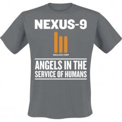 Blade Runner 2049 - Nexus 9 T-Shirt ciemnoszary. Szare t-shirty męskie z nadrukiem marki Blade Runner, s, z okrągłym kołnierzem. Za 42,90 zł.
