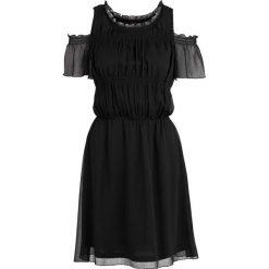 Sukienki hiszpanki: Sukienka z odkrytymi ramionami bonprix czarny
