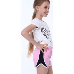 Spodenki dziewczęce: Spodenki dziewczęce jasnoróżowe NDZ8644