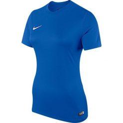 Nike Koszulka damska SS W Park VI JSY niebieski r. M (833058 480). Czarne topy sportowe damskie marki Nike, xs, z bawełny. Za 59,00 zł.