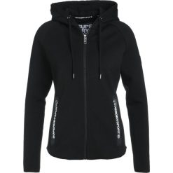 Bluzy damskie: Superdry SPORT GYM TECH LUXE ZIPHOOD Bluza rozpinana black