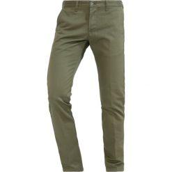Spodnie męskie: Edwin Spodnie materiałowe military green