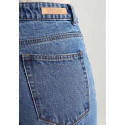 Lost Ink SLIM MOM ANKLE GRAZER WITH PEARL STRIPE Jeansy Slim Fit light blue denim. Niebieskie jeansy damskie Lost Ink. W wyprzedaży za 203,15 zł.