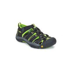 Sandały sportowe Dziecko  Keen  KIDS NEWPORT H2. Czarne buty sportowe dziewczęce marki Keen. Za 181,30 zł.